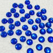 8MM ROUND SHAPE KUNDANS BLUE